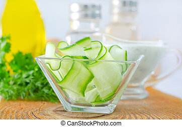 salad with cucumber