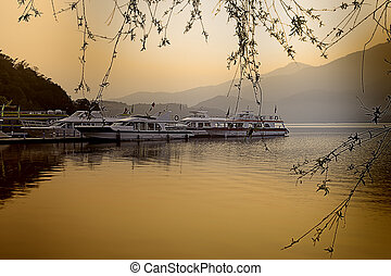 SUN MOON LAKE, Taiwan, for adv or others purpose use