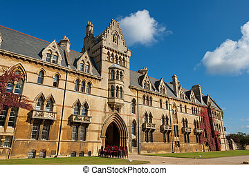 Christ Church college. Oxford, England - The house of Christ...