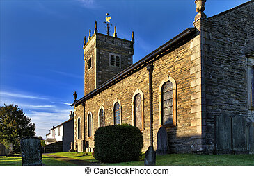 St Anne's Church, Ings, Cumbria. - View of the Grade 2...