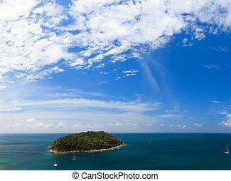 Phuket island Thailand - Exotic Bay in Phuket island...