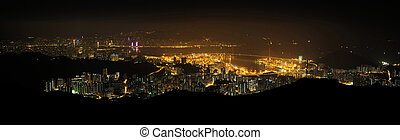 Hong Kong Victoria Harbour - Hong Kong Victoria harbour and...