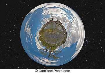 Little planet Regensburg