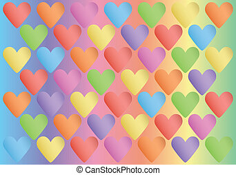 background with color valentines - abstract spectrum...