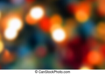 Abstract background - Abstract multi coloured defocused...