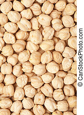 chickpea seeds background, food grain light brown texture
