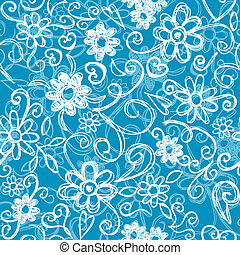 Flower seamless background - Seamless pattern background -...