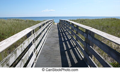 board walk - borad walk to the ocean