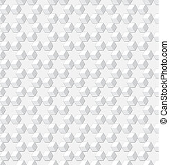 Background - gray geometric vector cubes texture