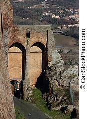 """Porta della Rocca - """"Porta della Rocca"""" ancient gate in..."""