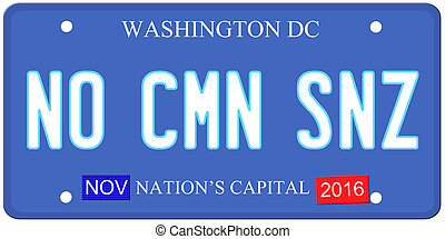 No Common Sense Washington - An imitation Washington DC...