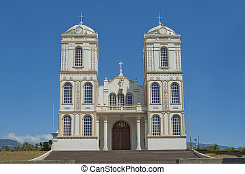 Catholic Church Sarchi Costa Rica - Ornate catholic church...