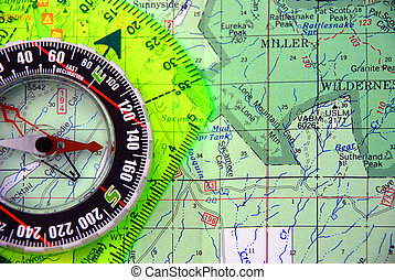 Mapping using a compass, Orienteering, Mountaineering