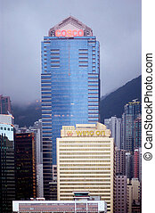 The Cosco Tower in Hong Kong, China