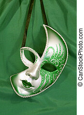 Carnival mask - Festive carnival mask on the background of...