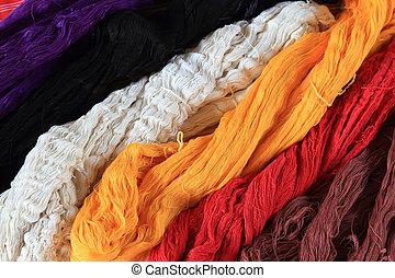 ancient thai woven cloth