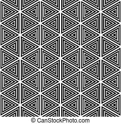 Seamless geometric pattern Vector art