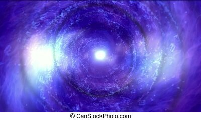 energy vortex in universe,travel in tunnel hole.