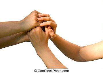 Quatro, mãos