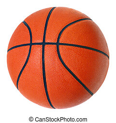 basketball ball 02 - basketball ball on white background
