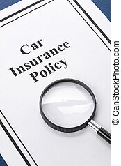 car Insurance - Document of Car Insurance Policy for...