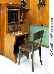 Telephonist workplace - Vintage style telephonist workplace...