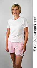 Physically Fit Women - Physically Fit Senior Baby Boomer...
