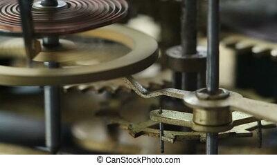 Clockwork - Old clockwork close up