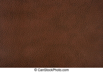 Brown leather - Dark brown leather texture background