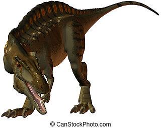 Acrocanthosaurus - 3D Render of an Acrocanthosaurus-3D...