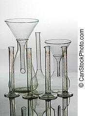 Glass laboratory equipment