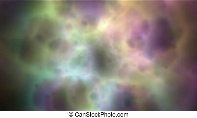 nebula & galaxy,color energy
