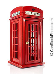 english londen telephone - model of red english london...