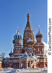 Saint Basil's Cathedral,Moscow,Russia - Saint Basil's...