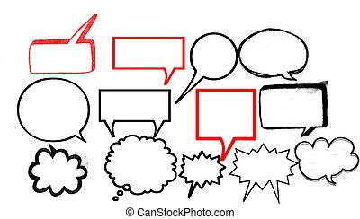 formes pour parole - Des formes utiliser pour les BD ainsi...