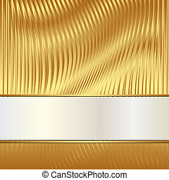 golden background with light tape