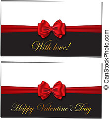 Two luxury greetings card cong
