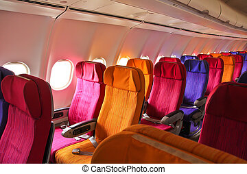 Cabin airplane seats