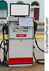 Gas Pump - Photographed out of gas pump in Georgia after...