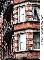 Typical architecture in London.