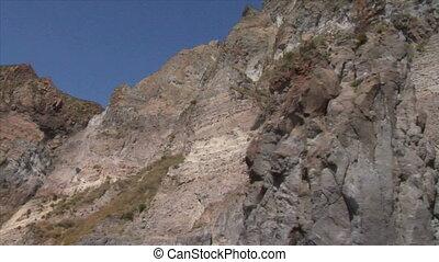 eolian island pattern 01 - Mediterranean rocky coast, eolian...