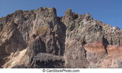 eolian island pattern 02 - Mediterranean rocky coast, eolian...