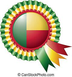 Benin rosette flag