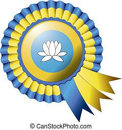 Kalmykia rosette flag
