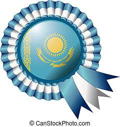 Kazakhstan rosette flag