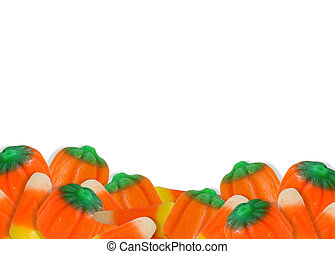Halloween Candy Corn Border - Image composition for...
