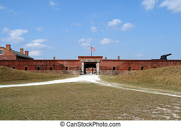 Fort Clinch State Park - Historic Fort Clinch State Park,...
