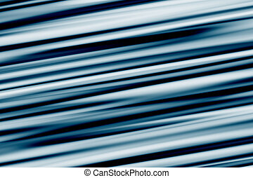 Blue Streaks Abstract