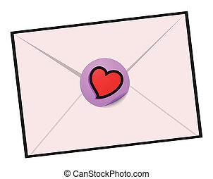 love letter - Creative design of love letter