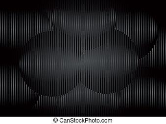 Metal dark circles - Creative design of metal dark circles